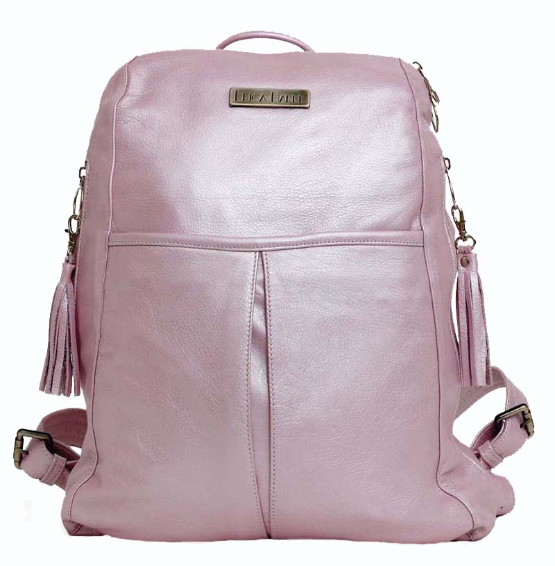 erica harel pink backpack