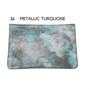 Flaps – 26 Metallic Turquoise