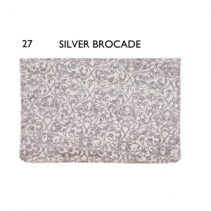 Flaps – 27 Silver Brocade