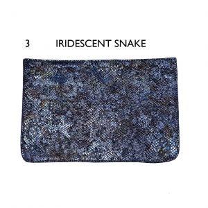 Flaps – 3 Iridescent Snake